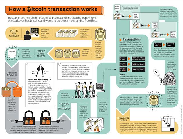 Infografía Bitcoin