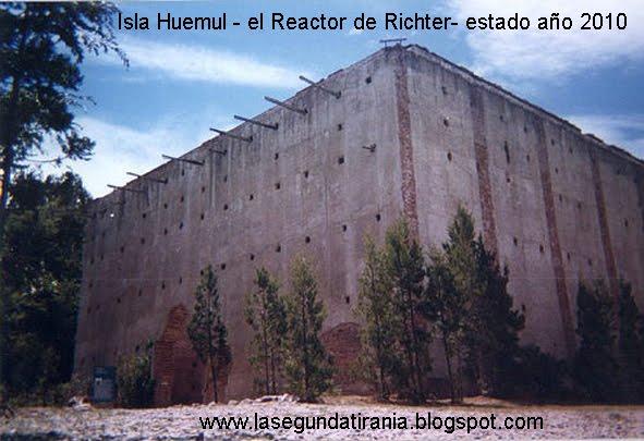 Isla Huemul complejo Reactor